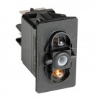 Pannello interruttori componibile con led IP56