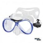 Maschera Seac Sub Capri Junior trasparente - blu