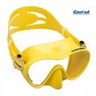 Maschera subacquea Cressi Sub F1 in silicone giallo