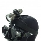 Porta torcia elastico da testa regolabile