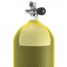 Rete di protezione per bombole sub Colore giallo