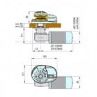 Salpa Ancora Per Barca Lofrans X1 700w Per Catena 6mm700W