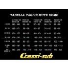 Muta monopezzo Cressi Sub one 1mm taglia 2 - Small