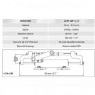 Timoneria Idraulica Ultraflex HYCO-OBF/3 Per Fuoribordo Max 150hp