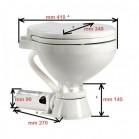 WC Nautico per Barca Osculati Elettrico 12 Volt